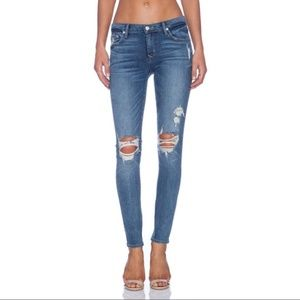Lovers & Friends Ricky Skinny Jeans Ripped, 26